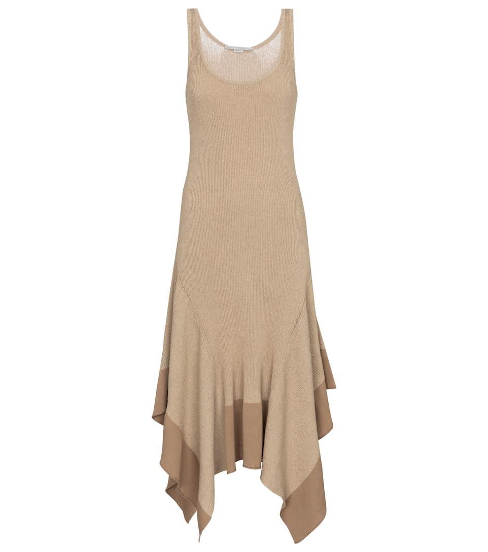 Vestido de punto, de Stella McCartney.