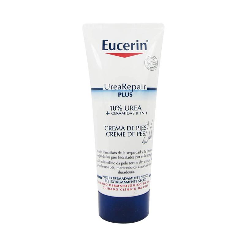 Crema de pies de Eucerin.