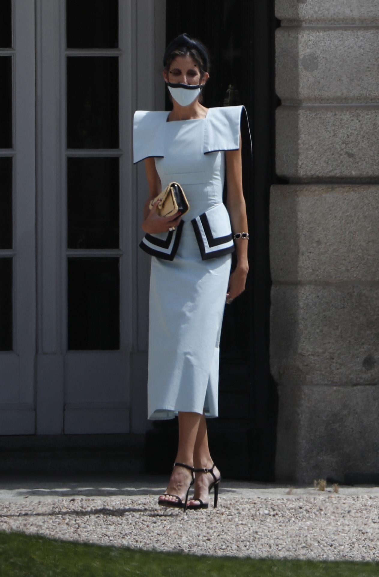 Inés Domecq con un vestido de su marca The IQ Collection.