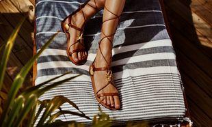 Hidratar los pies en verano, la clave