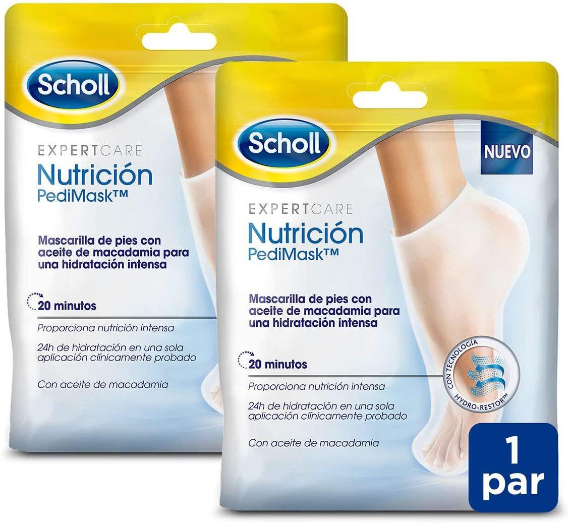 Mascarilla nutritiva para pies de Dr. Scholl