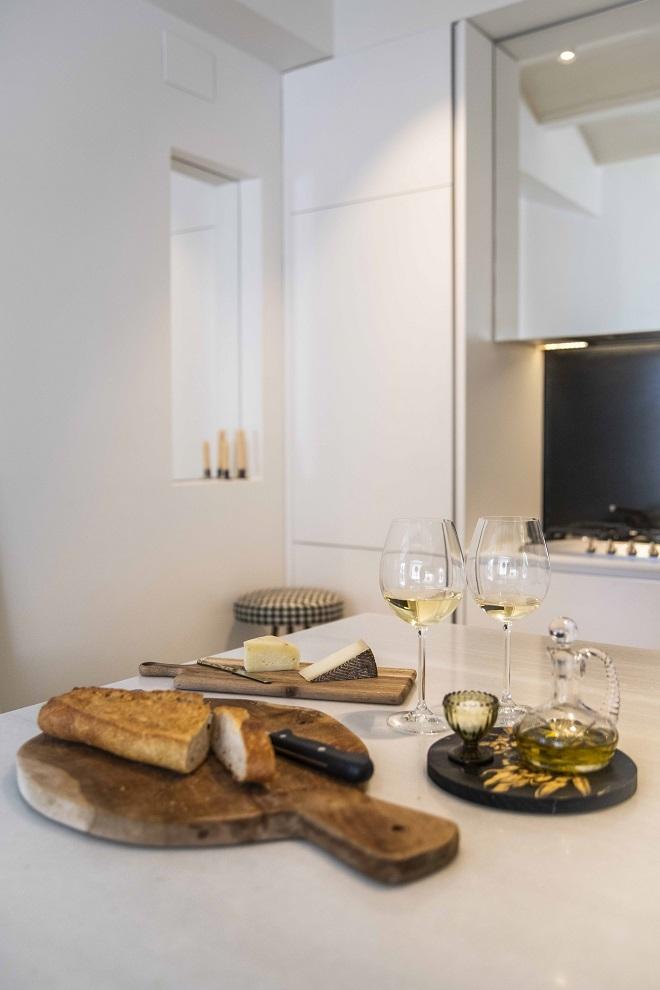 Detalle de la cocina.