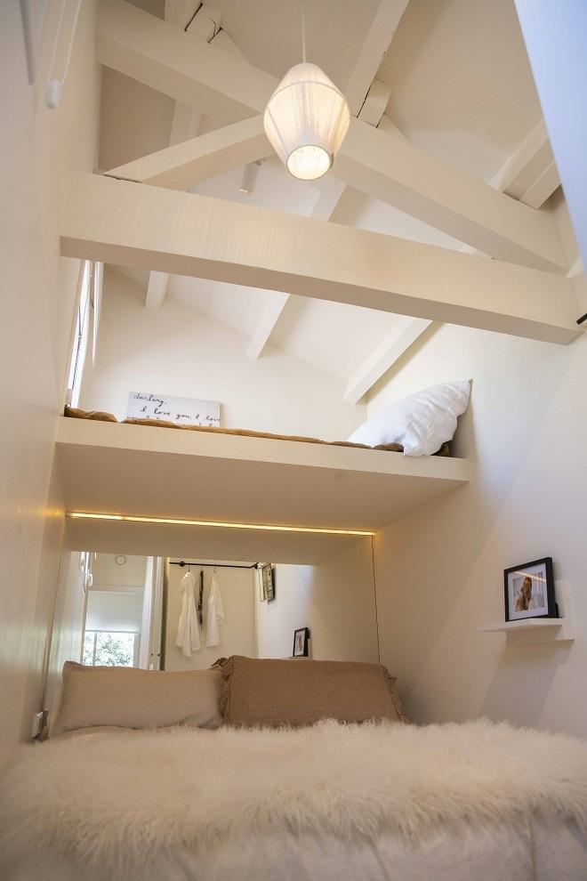 El segundo dormitorio.