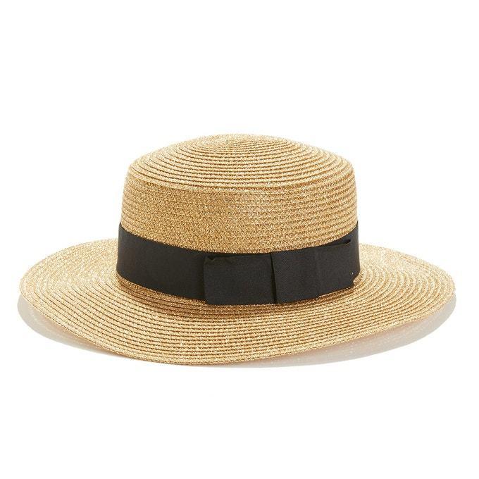 Sombrero de paja brillante de La Redoute