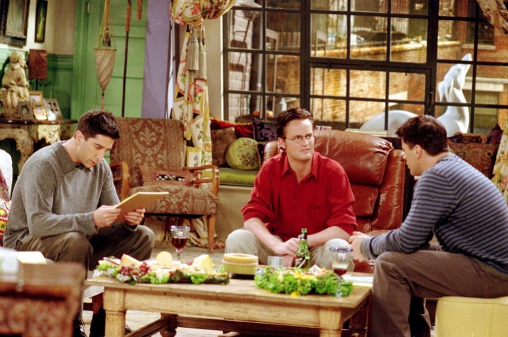 Ross Chandler y Joey en Friends