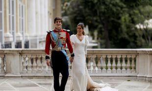 Los recién casados en el palacio de Liria