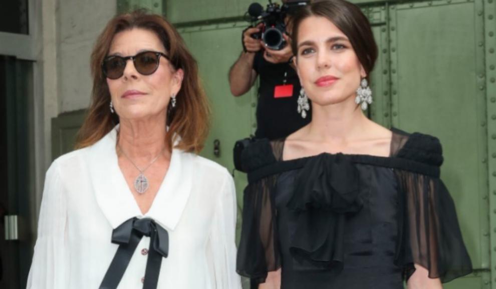 Carolina de Mónaco y Carlota Cashiraghi