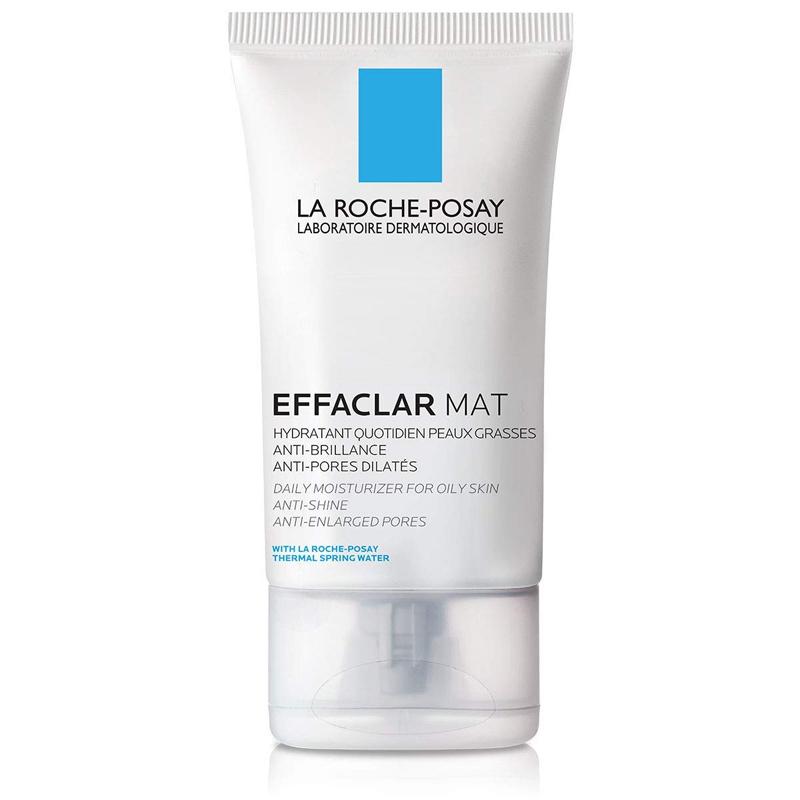 Crema hidratante facial para piel grasa Effaclar Mat de La Roche-Posay.