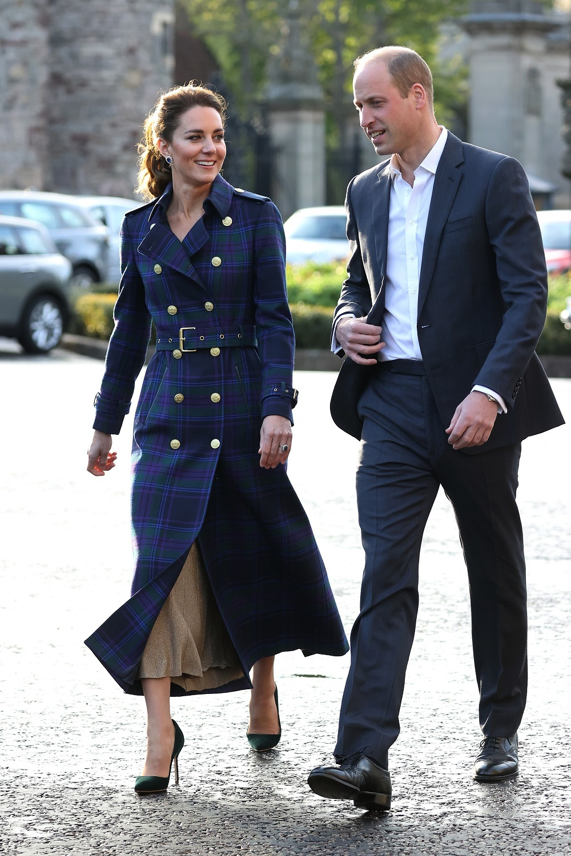 Los duques de Cambridge en Escocia.