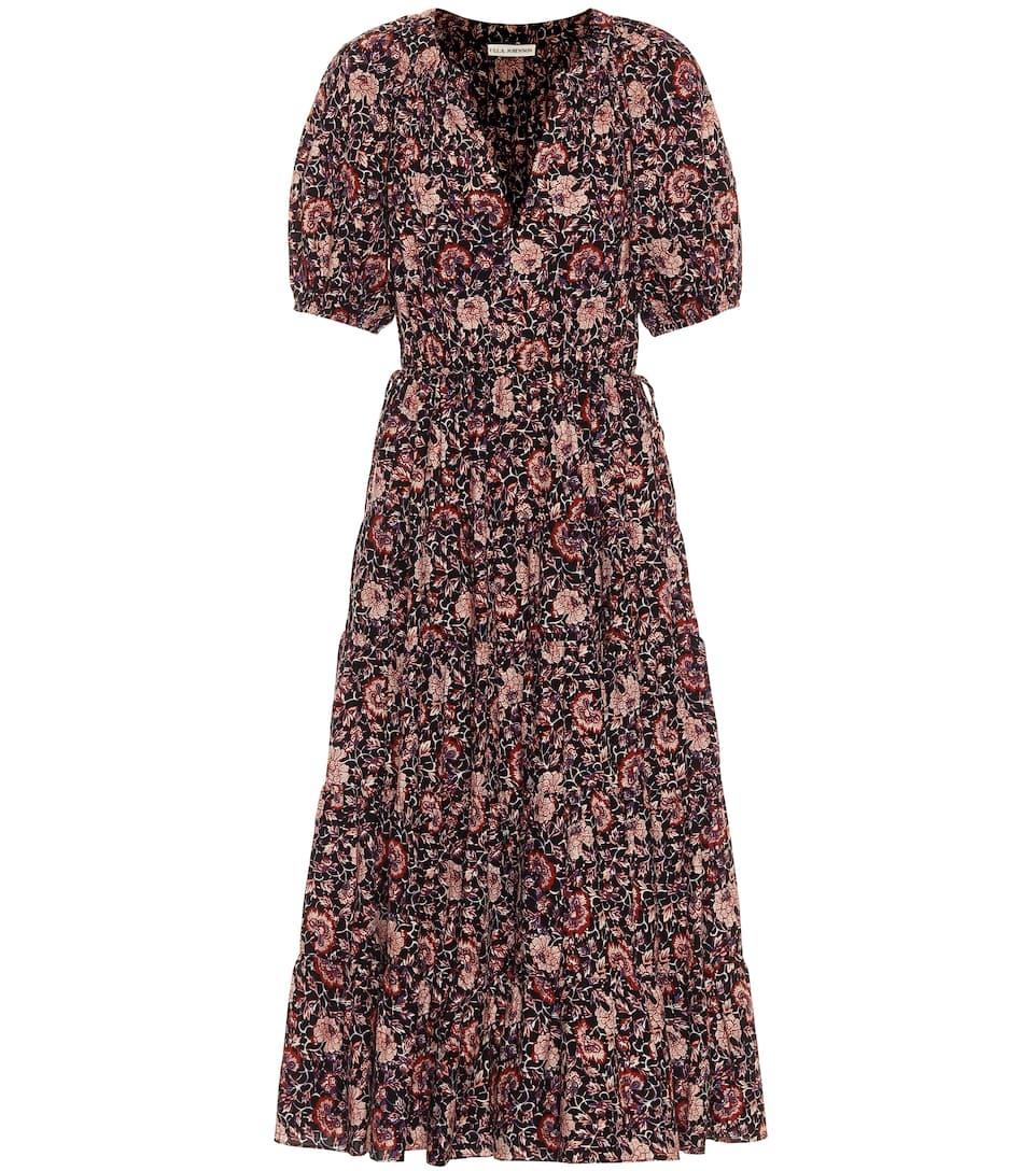 Vestido de flores de Ulla Johnson.