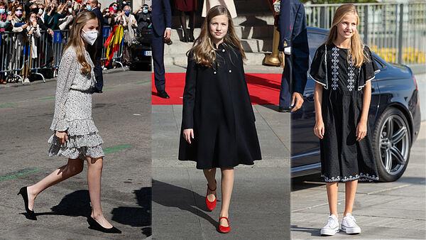 La princesa Leonor se baja de los tacones: de sus bailarinas españolas favoritas a los zapatos con los que hace un guiño a Letizia