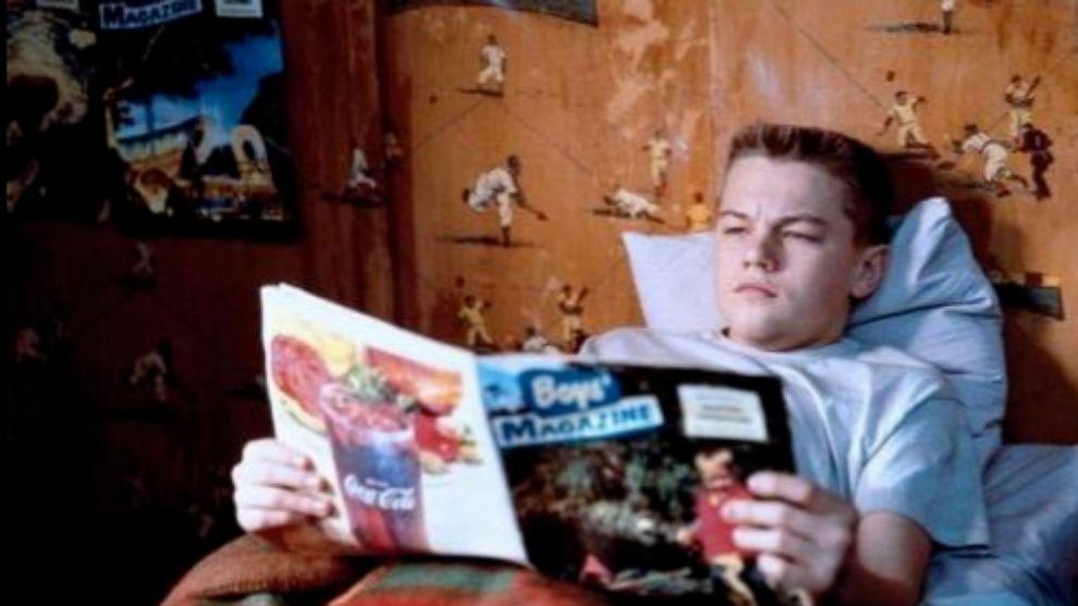 Leonardo Di Caprio en la película Vida de este chico.