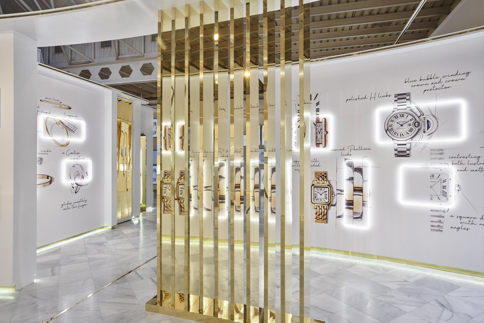 Joyas y relojes icónicos de la historia de Cartier.
