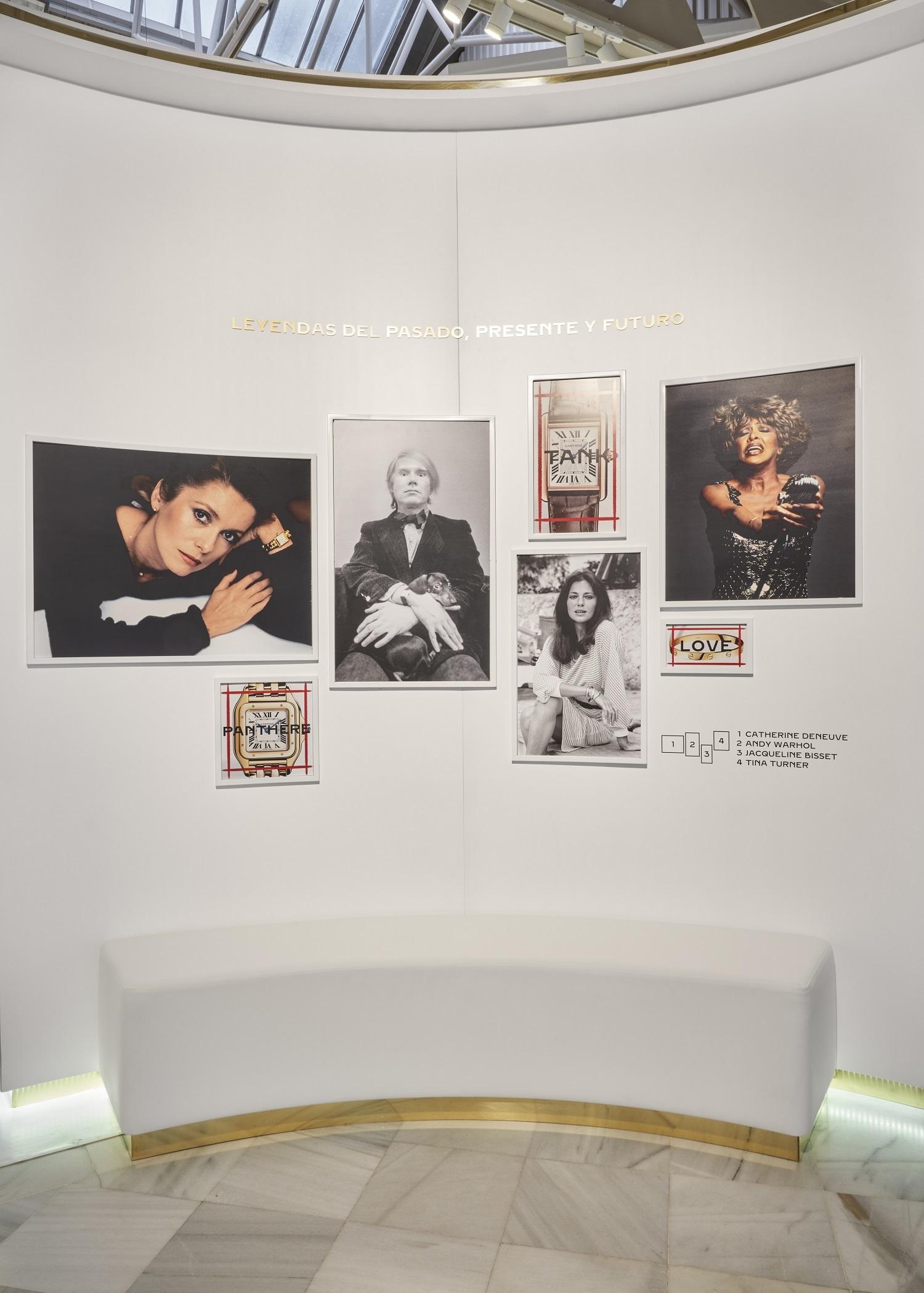 Personalidades y su relación con Cartier.