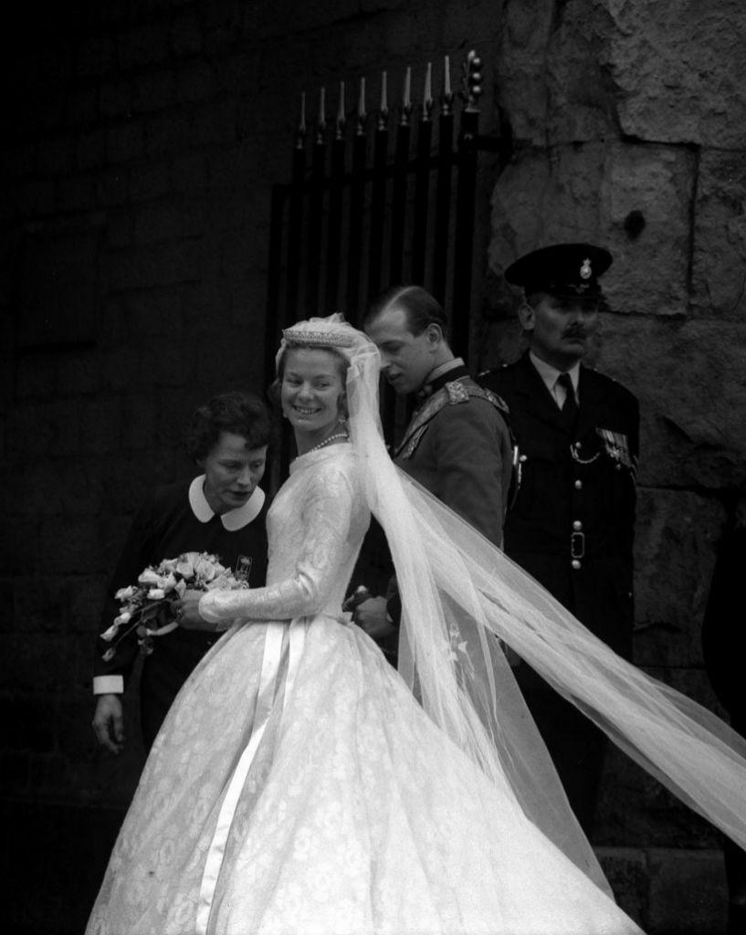Los duques de Kent el día de su boda