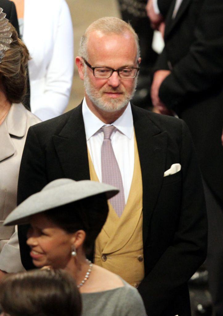 El conde de St. Andrews en la boda de Guillermo y Kate