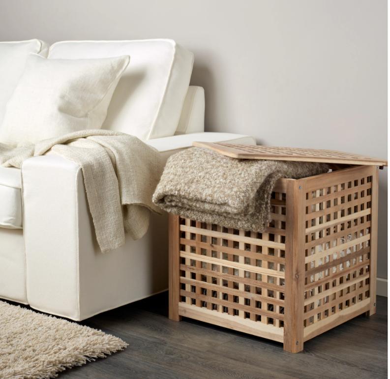 Mesa de madera de acacia maciza Hol.