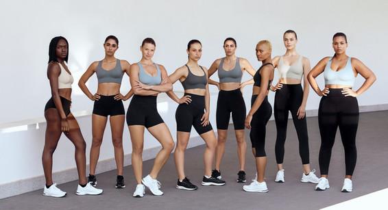 La colección de leggins deportivos con efecto compresivo de Oysho.