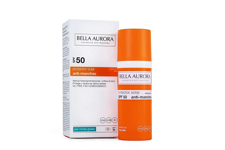 Crema solar de Bella Aurora.