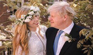 Foto oficial de la boda de Boris Johnson y Carrie Symonds