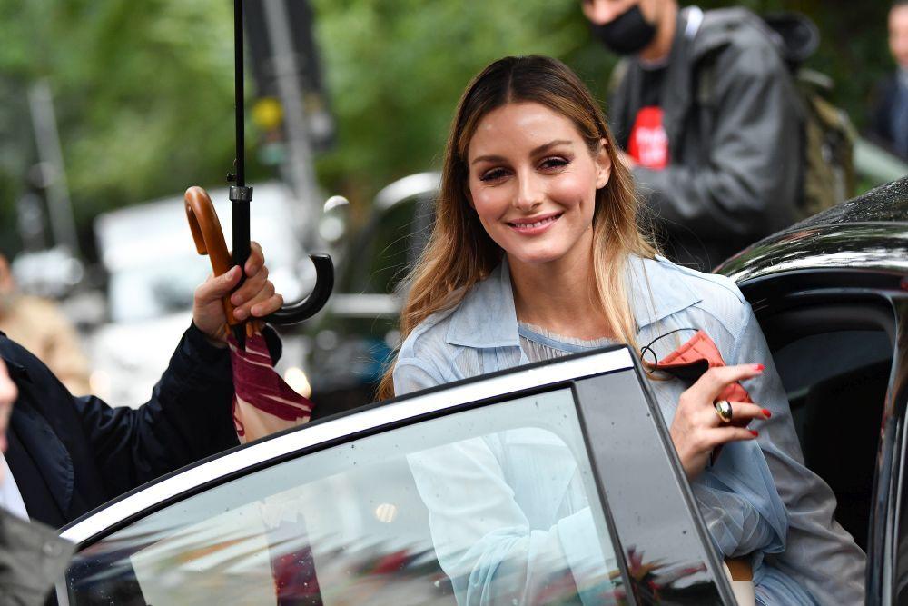 Olivia Palermo es una fan incondicional de los rojos para sus manicuras todos los días del año.