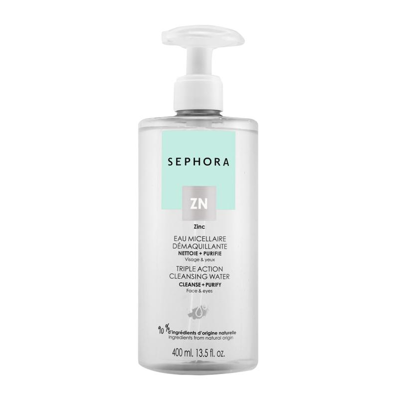 Agua micelar desmaquillante y purificante de Sephora Collection.