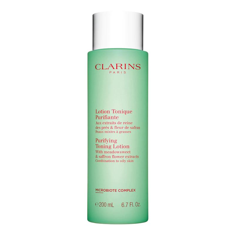 Tónico facial purificante para pieles grasas y mixtas de Clarins.