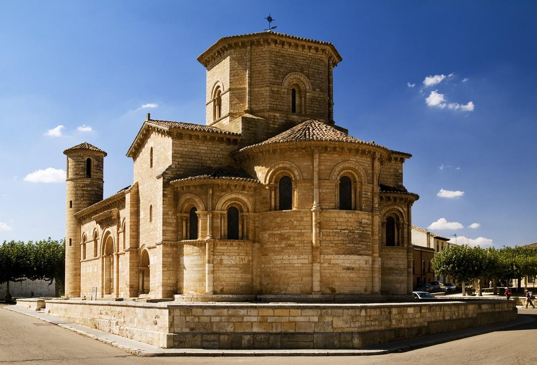 La iglesia de San Martín de Tours.