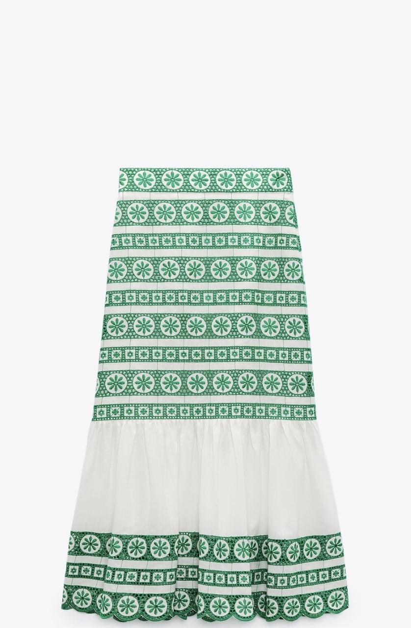 La falda viral de Zara