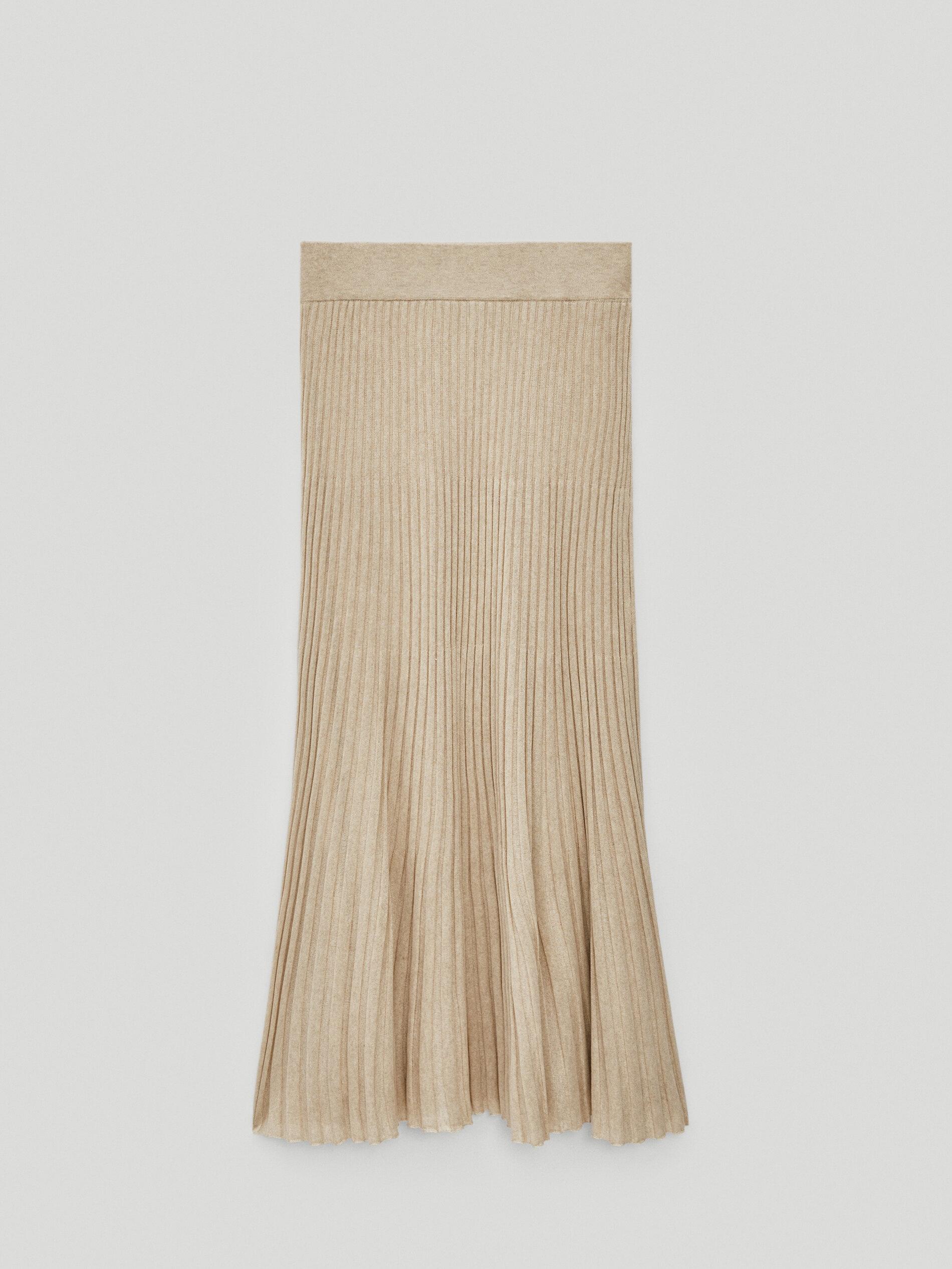 Falda de Massimo Dutti.