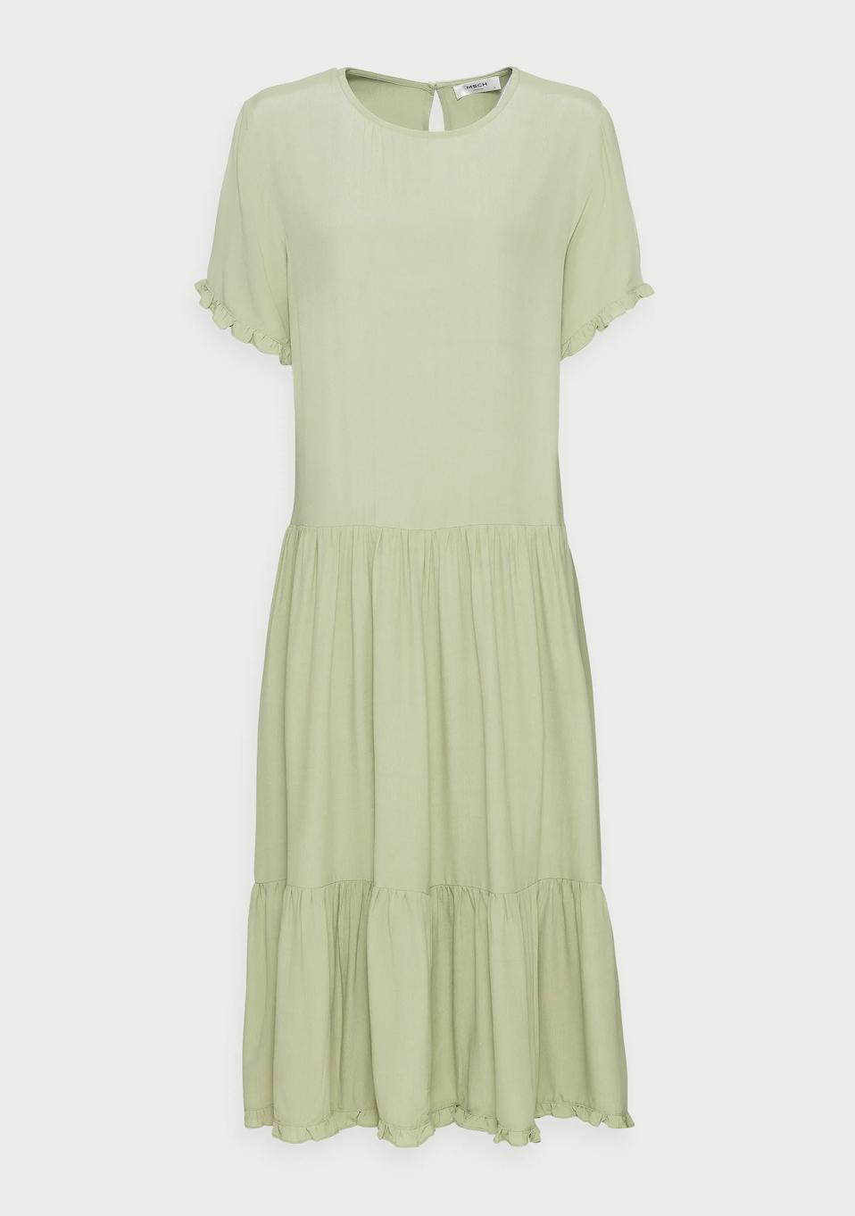 Pia Morocco frill dress de Moss Copenhagen