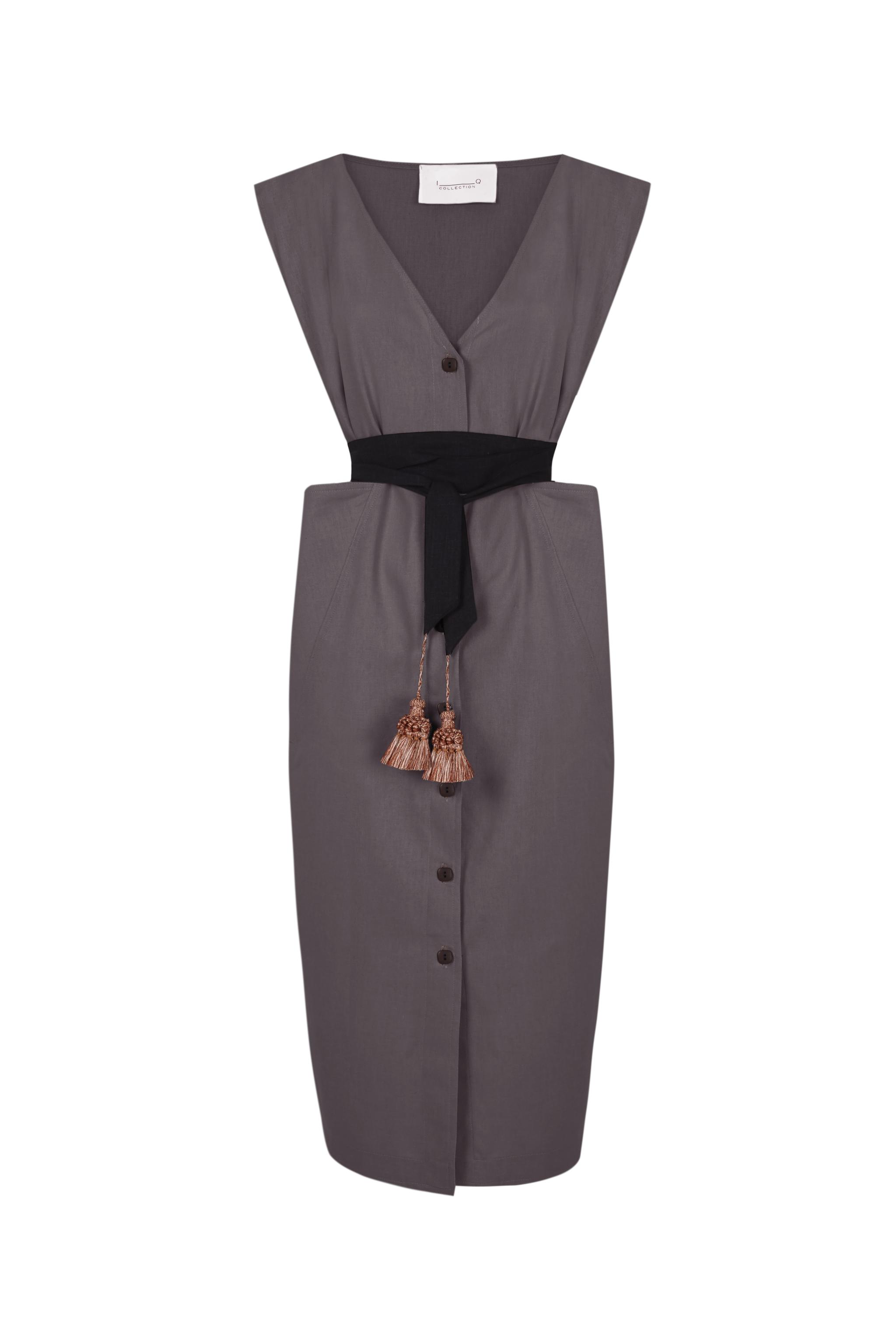 Vestido Leonor, de la colección primavera verano 2021 de Inés Domecq.