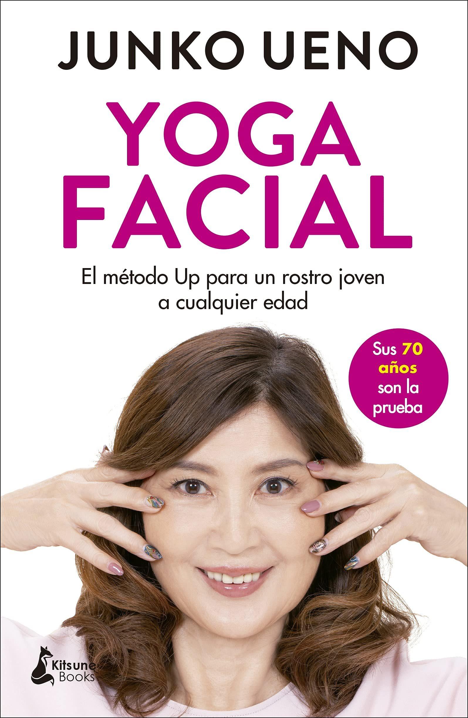 Libro Yoga Facial de Junko Ueno.