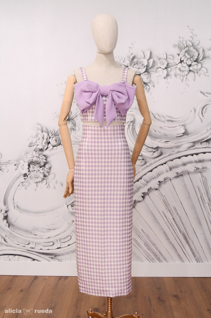 Vestido de la firma Alicia Rueda