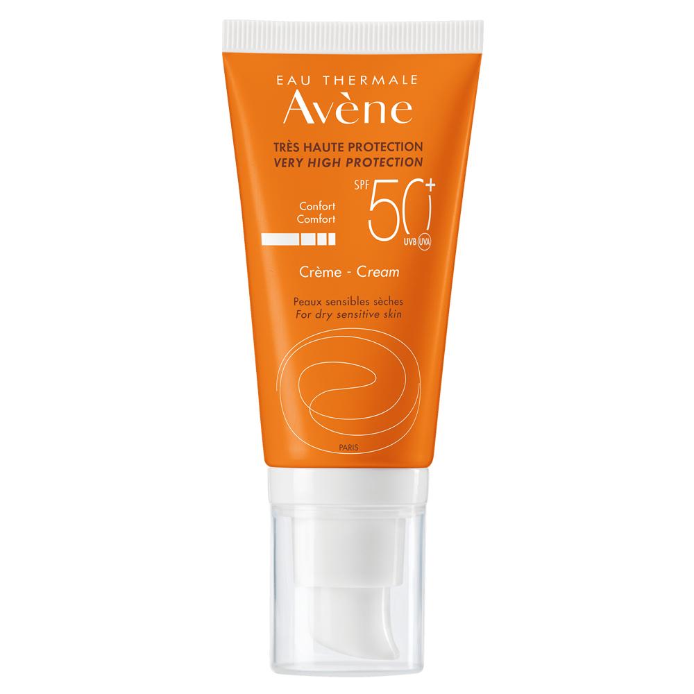 Crema solar SPF 50+ de Avène.