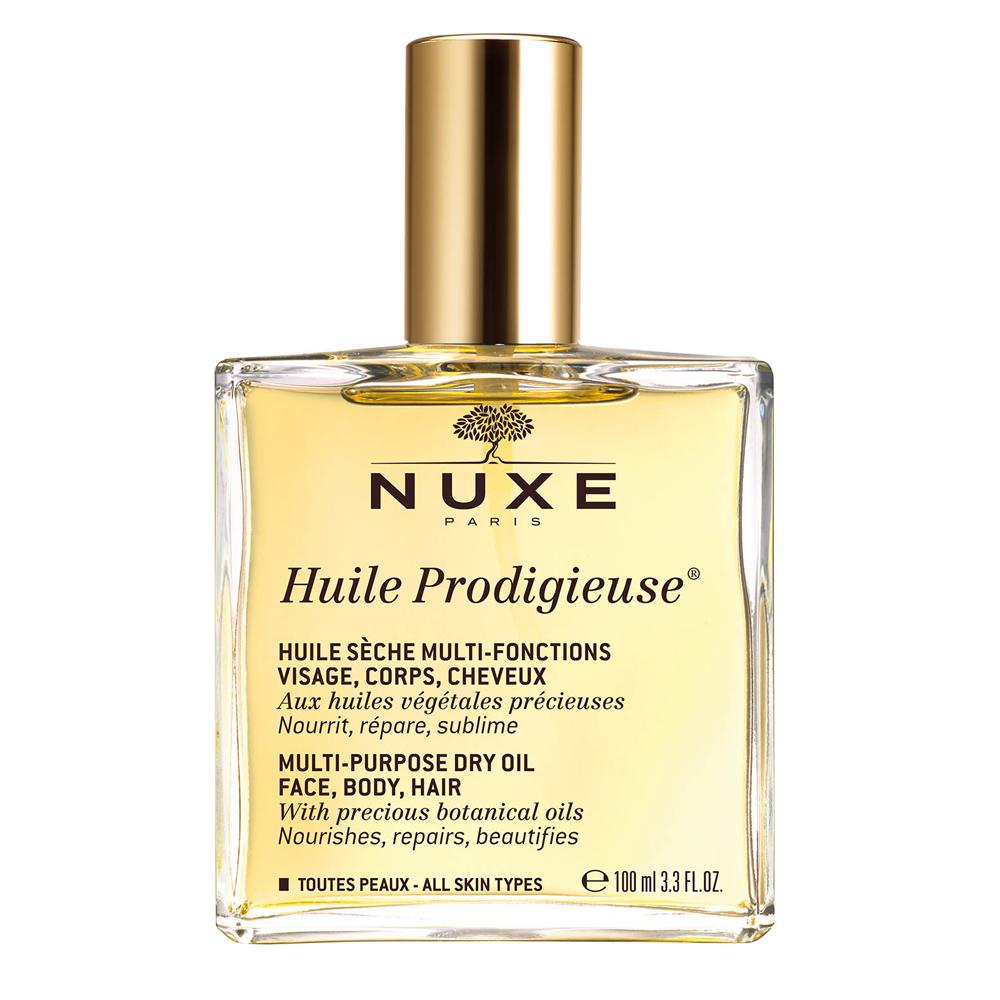 Aceite prodigioso de Nuxe.