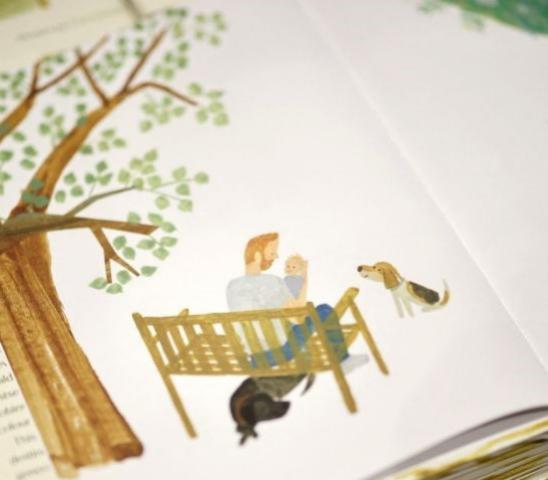 Ilustración de The Bench
