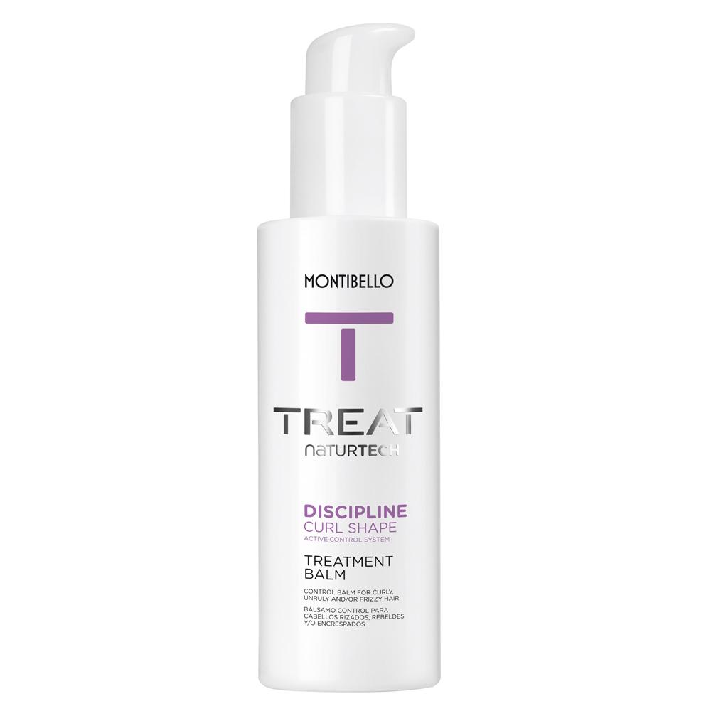 Crema de tratamiento Discipline Curl Shape Balm Treat Naturtech de Montibello.