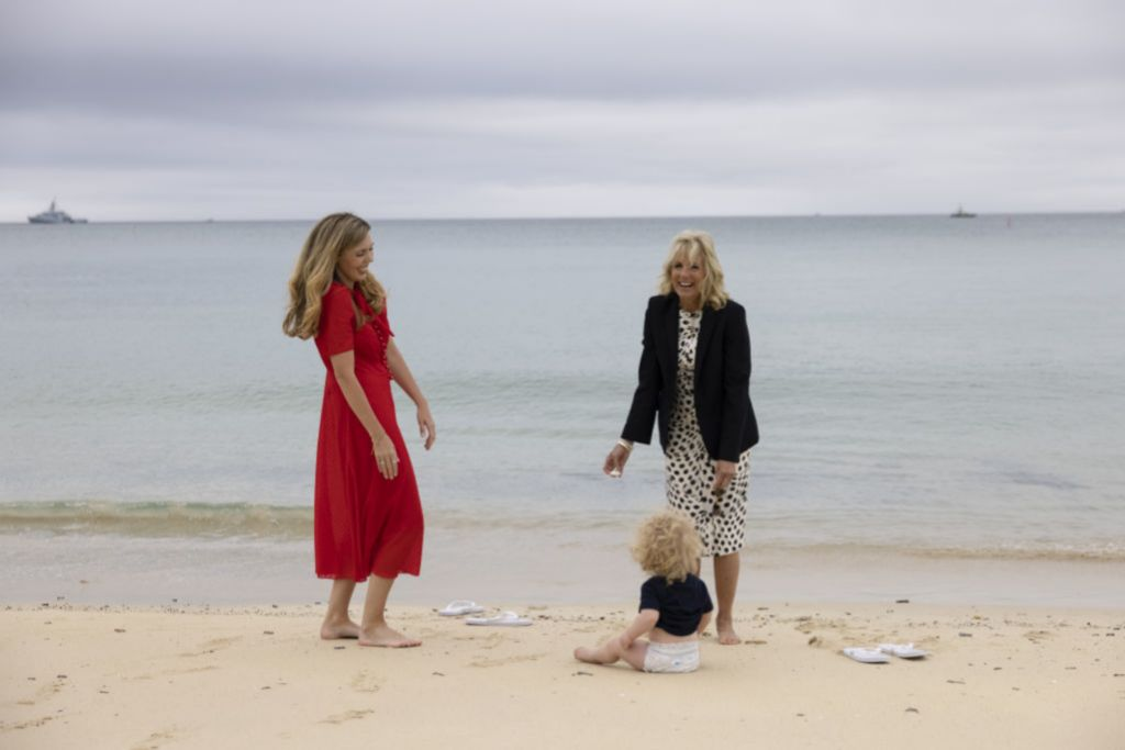 Carrie, Jill y el pequeño Wilfred