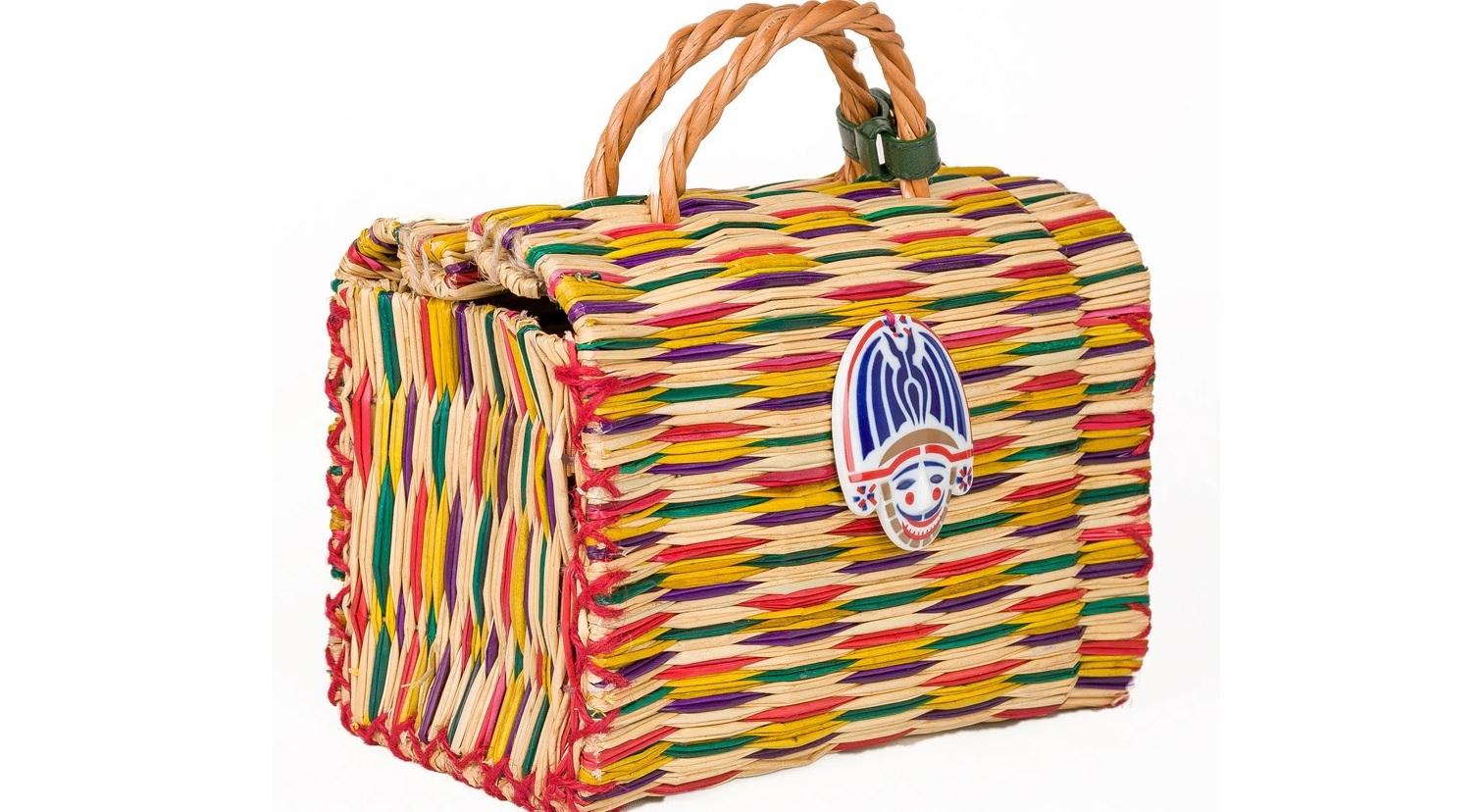 Una cesta de mano