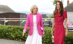 Jill Biden y Kate Middleton
