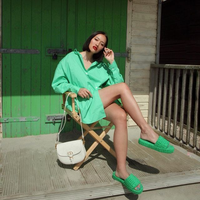 Tiffany Hsu con la camisa más viral.