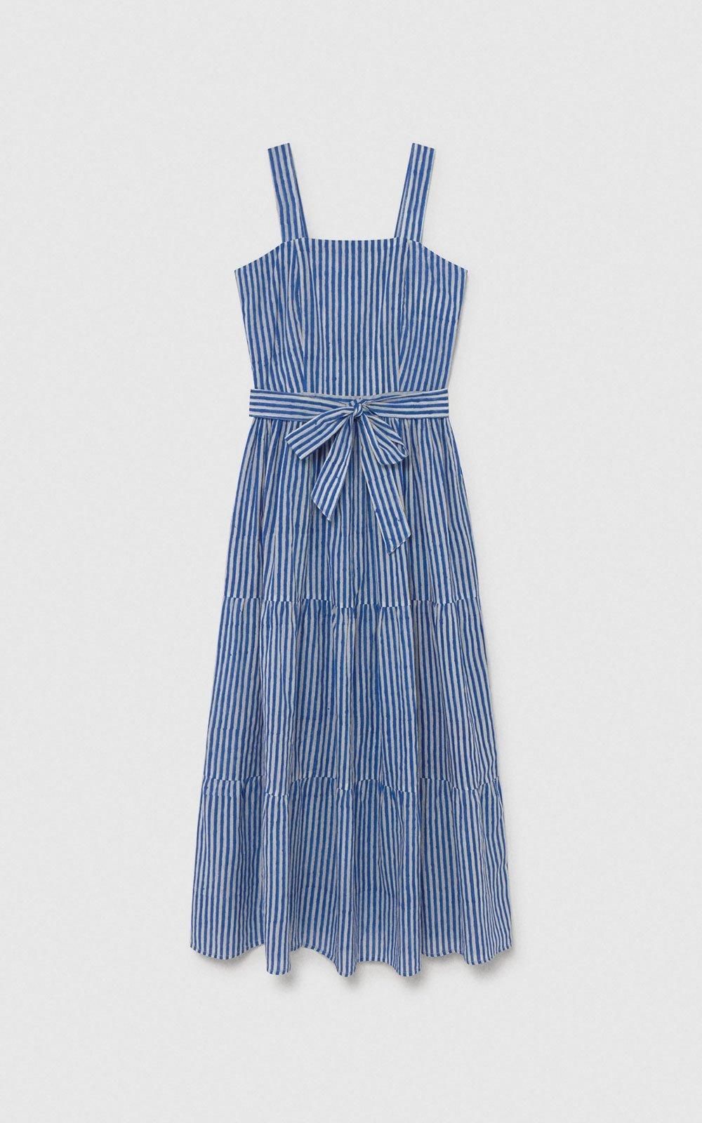 Capri Dress Navy de Maria de la Orden Studio