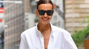 Irina Shayk luce el peinado más fresco del verano y funciona con todo...