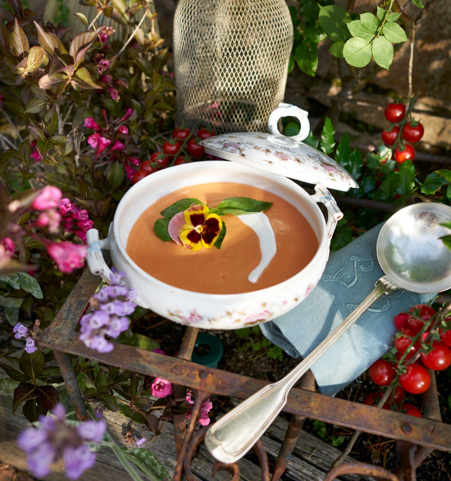 El gazpacho, el plato más sabroso y fresco de la temporada