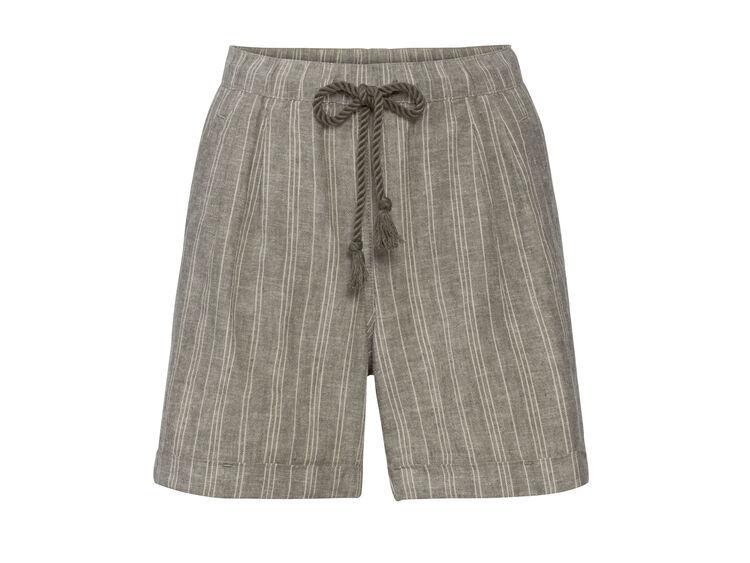 Pantalones de lino de tiro alto de Lidl