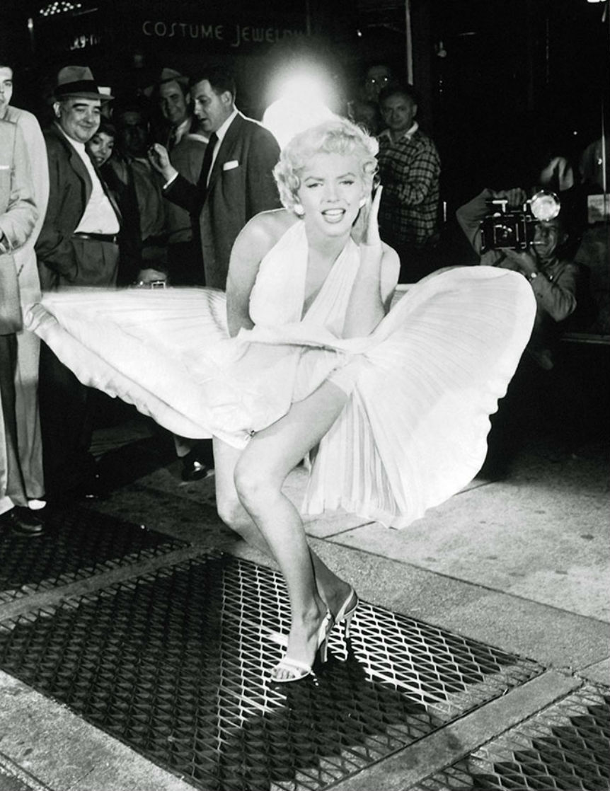 Marilyn Monroe en La tentacion vive arriba