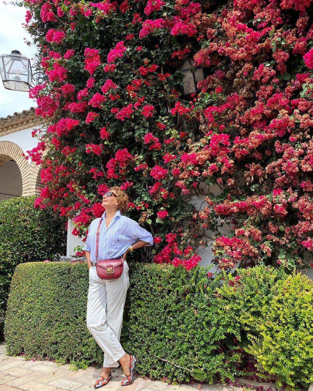 Naty Abascal en una escapada a Córdoba.