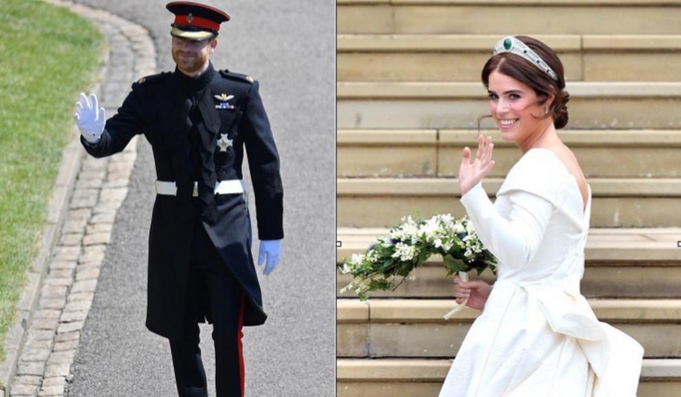 El príncipe Harry y Eugenia de York