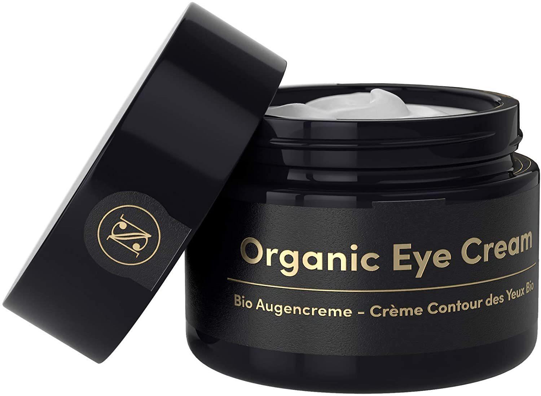 Crema orgánica contorno de ojos